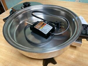 "Salad Master  Electric Skillet w/ lid 10"" very nice gently used"