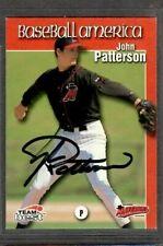 1999 Team Best #74 John Patterson High Desert Mavericks Signed Autograph (H47)