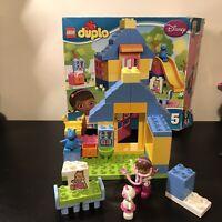 Lego Duplo 10606 Doc McStuffins backyard clinic complete Except Fabric