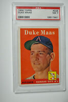 1958 Topps - Duke Mass - #228 - PSA 7 - NM