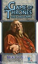 A GAME OF THRONES LCG CHAPTER PACK HERE TO SERVE