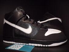 2006 Nike Dunk Hi Premium NORT RECON BLACK WHITE GREY 314263-012 DS NEW Sz 9.5