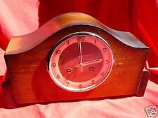 Franze Hermie Fs Mantel Shelf Clock Art Deco Style Mahogany