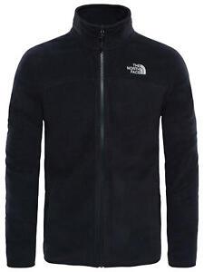 The North Face 100 Glacier Full Zip Men's Fleece, Black Medium **GENUINE**