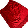 Vintage 60s Vanity Fair Half Slip Medium Red Nylon Antron III Chantilly Lace