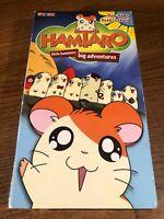 Hamtaro Ham-Hams Head Seaward VHS VCR Video Tape Movie Used Cartoon