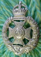 The Rifle Brigade (Prince Consort's Own) Regiment Cap Badge KC 70 mm ANTIQUE Org