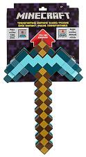 Minecraft Transforming Diamond Sword and Pickaxe Dynamic Tool Diamond Design