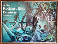 The Rottnest Bike Business by Susan Burke (Hardback 1982) Graeme Base Island