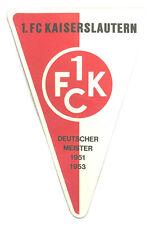 2er 1 FC Nürnberg Aufkleber Sticker Bundesliga Fussball #1185