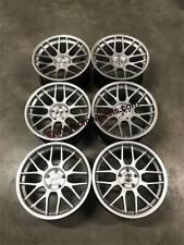 """19"""" Strom STR2 RC Wheels Hyper Silver BMW F30 F31 F32 F33 F36 Arc 8 BBS RC Style"""
