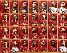 28 AK FC Bayern München originale Autogrammkarten 2018-2019 18/19
