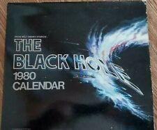THE BLACK HOLE Calander, 1980