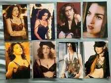 MADONNA 8 promo postcards / 4x6 cards Like A Prayer, Express Yourself, madame x