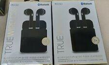 2- Sentry True Wireless Earbuds, Bluetooth, Wire-Free (Black)