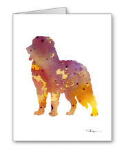 Bernese Mountain Dog Note Cards With Envelopes