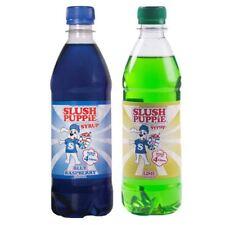 Slush Puppie 2 Pack Blue Raspberry and Lime Slushie Drink Maker Syrup