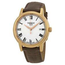 TISSOT MENS T-CLASSIC CARSON WATCH T0854103601300 WHITE DIAL RRP £275.00