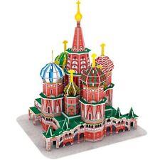 3D Puzzle CubicFun - Saint Basil's Cathedral (Russia) - 92 pieces