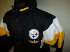 Fall 2020: PITTSBURGH STEELERS STARTER Hooded Jacket  3X 4X 5X