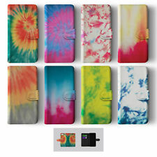 TIE DYE RETRO HIPSTER VINTAGE IPHONE SAMSUNG WALLET PHONE CASE
