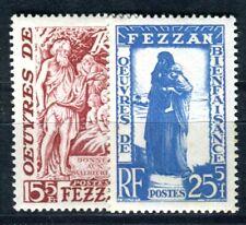 FEZZAN 1950 Yvert 54-55 * SATZ TADELLOS (F3625