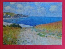 Eurographics 1000 Piece Puzzle C. MONET~PATH THROUGH THE WHEAT FIELDS Complete!