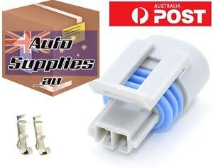 Delco Air Temperature Sensor Connector Plug Delphi Temp Ambient IAT Aftermarket