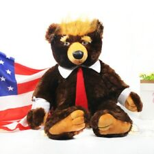 2 ft. Donald Trump Deluxe Plush Stuffed Teddy Bear W American Flag Cape!