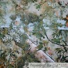 BonEful Fabric FQ Cotton Quilt Brown Real Tree Camouflage Leaf Wood Mountain Man