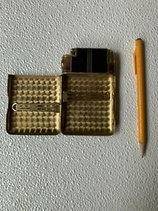Art Deco Cigarette and Lighter Case
