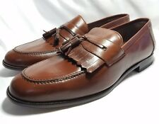 Mezlan Brown Tassel Loafers in Excellent Condition - Size 11.5 in standard width