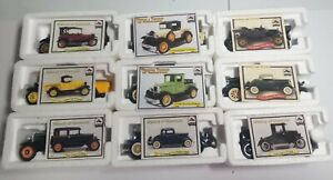 9 National Motor Museum Mint Diecast Cars 1/32