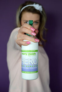 Spot Hero Stain Remover for Carpets, Clothing and Upholstery by Merry Maids UK