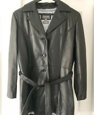 Wilson Leather Women's 1X Thinsulate Black Coat Belt Removable Quilted Liner