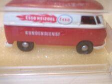 """Brekina 3267 VW T 1 Kastenwagen """" ESSO Kundendienst """" Rot - Weiß mit OVP 1:87 HO"""