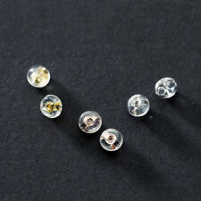 6PCS 925 Sterling Silver Clutches Post Earring Backs Earnuts Stoppers DIY A1961
