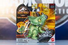 Jurassic World Snap Squad Triceratops Dinosaur Mini Figure Camp Cretaceous 2020