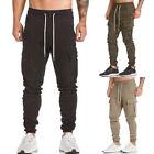 Men Trousers Sweatpants Harem Pants Slacks Casual Jogger Dance Sportwear Baggy A