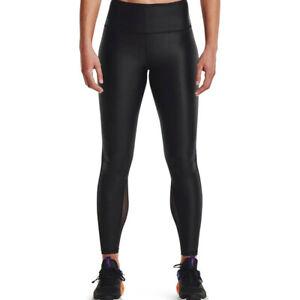 Under Armour Iso-Chill Full-Length Leggings Women's Black White Activewear