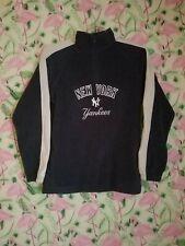 Majestic MLB New York Yankees 1/4 Zip Fleece Pullover Youth Large 18/20 EUC