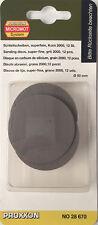 "Proxxon super fine sanding discs 2000 grit 50mm 2"" 28670 / Direct from RDGTools"