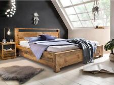 Bett Havelock 180x200 recycelte Pinie Massivholzbett Ehebett Doppelbett massiv