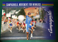 Alessandro Ballan WINNER of the 2008 road worldchampion poster 49x68 Campagnolo