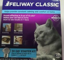 New listing Feliway Classic 30 Day Diffuser Starter Kit. 1 Diffuser, 1 48 Ml Refill
