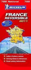 La france réversible national map 2011 2011 (michelin national cartes) par divers