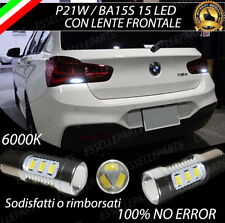 COPPIA DI LUCI RETROMARCIA 15 LED P21W BA15S CANBUS BMW SERIE 1 F20 RESTYLING