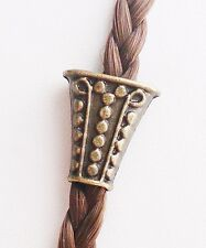 Bead Perle Charm Modul Haarperle Bartperle Keltisch Schmuck Bronze Anhänger