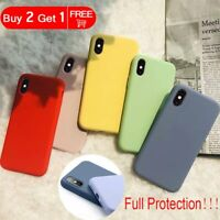 Genuine Case Liquid Silicone Hard Full Protection Cover For iPhone XR XS Max X