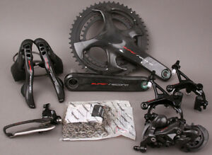 Campagnolo Super Record 12 Speed Road Bike Group Groupset 6 Piece 172.5 Crankset